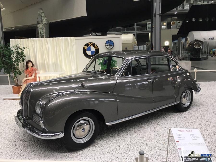 BMW 502 1954 г. в.