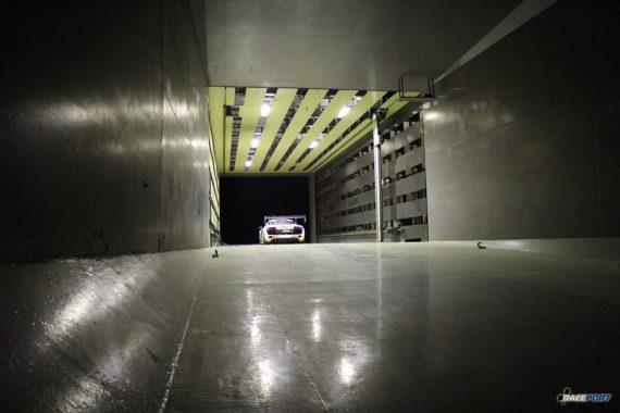 Raceport провел смену в аэродинамической трубе