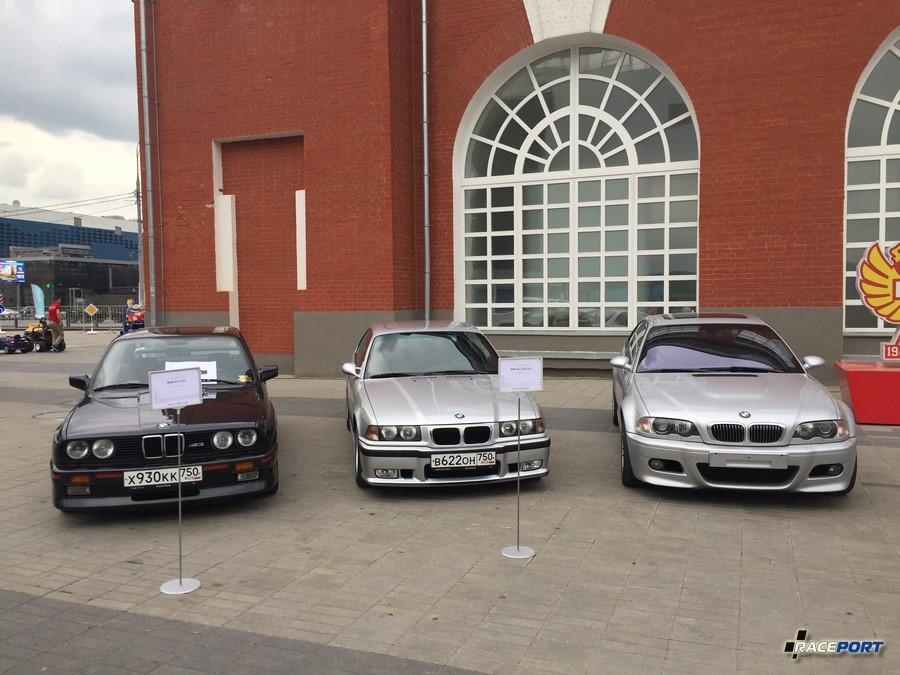 BMW M3 трех генераций - E30, E36, E46