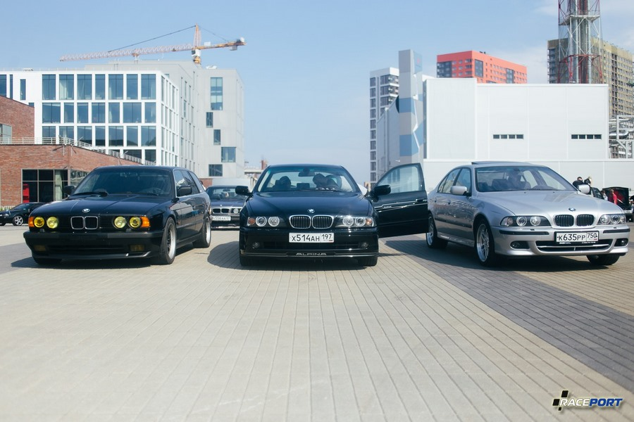 BMW E34 touring, Alpina E39 и BMW 530i E39