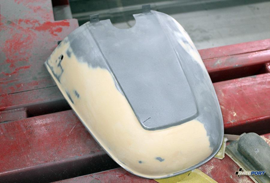 кузовной ремонт мотороллера