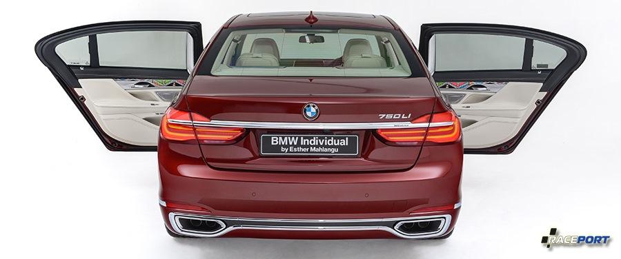 740Li BMW Individual Esther Mahlangu