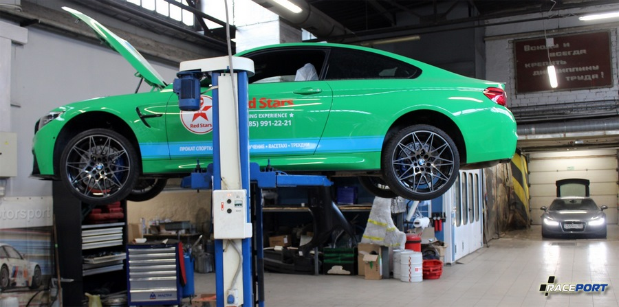 project BMW M4 Competition F82 raceport