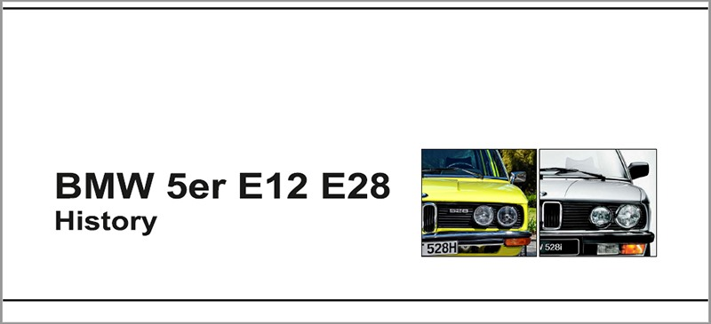 BMW E12 E28 Raceport
