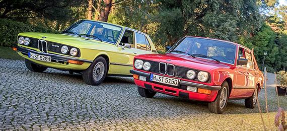 Фото-история BMW 5er E12 E28