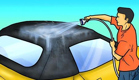 cabriolet cleaning bmw porsche mercedes mini