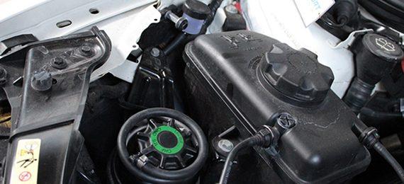056 Вспенивание жидкости ГУР на BMW M3 E92
