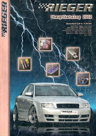Rieger Catalog 2002