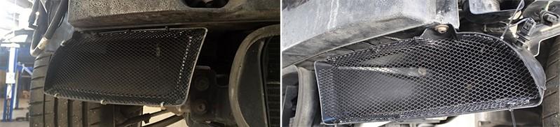Решетки в бампер BMW