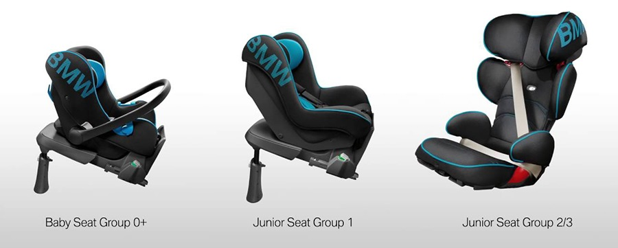 bmw baby seat junior