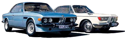 BMW E120 2000cs vs BMW E9 3.0 CSL