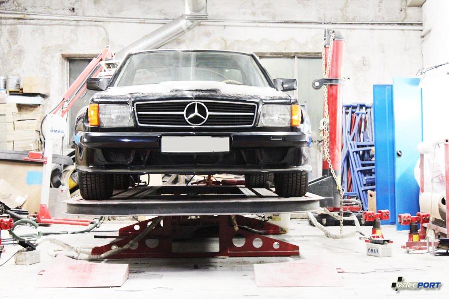 Mercedes Benz W126 GFL Sportsline