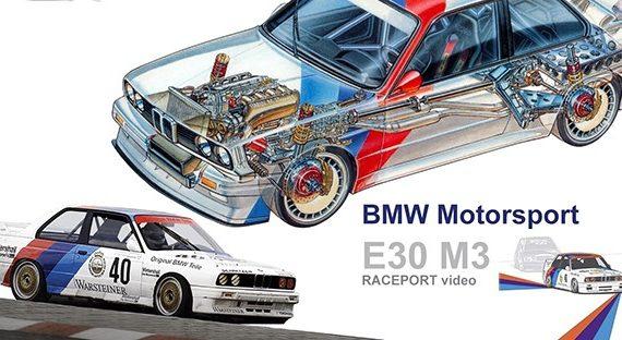 Противостояние в DTM – BMW M3 E30 и остальные