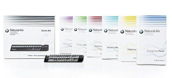 Освежители воздуха второго поколения для салона BMW Natural Air