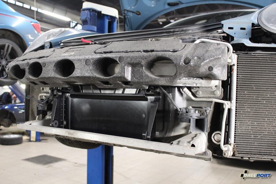 porsche 991 Carrera дополнительный радиатор охлаждения