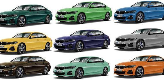 072 Как создается цветовая гамма BMW