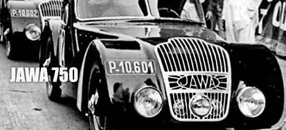 1 из 6 автомобилей Jawa 750. Прага политехнический музей