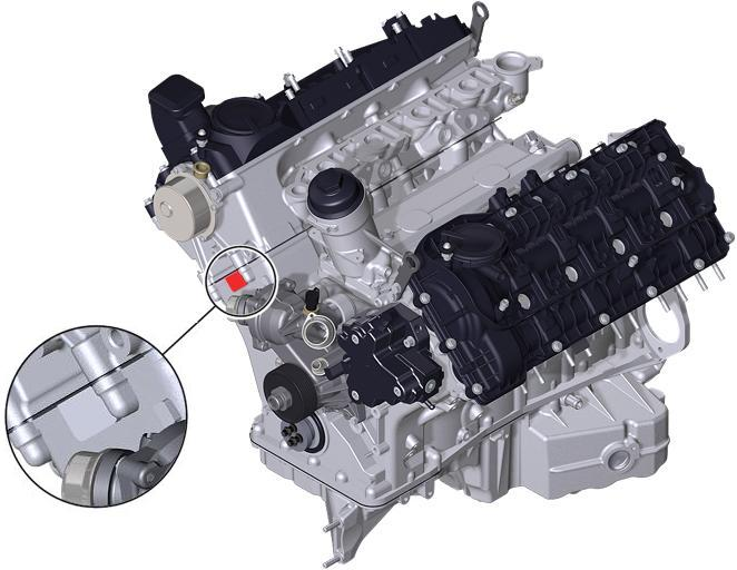 BMW Engine M67 Tue Austausch