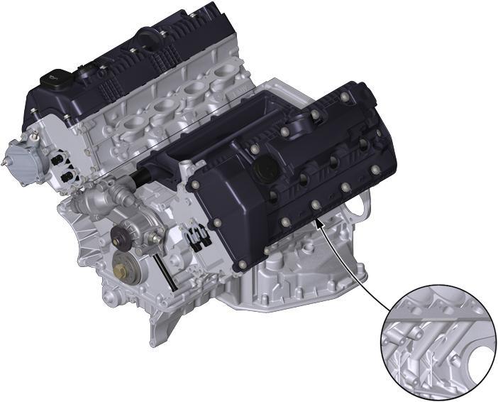 BMW Engine N62 Austausch