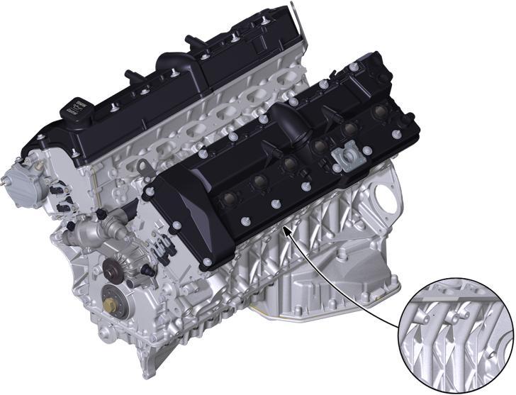 BMW Engine N73 Tue Austausch