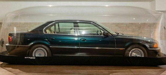 Интересный лот BMW 7 серии E38 без пробега выставлен на продажу в Польше