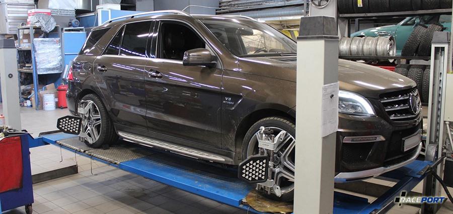 Сходразвал Mercedes Benz
