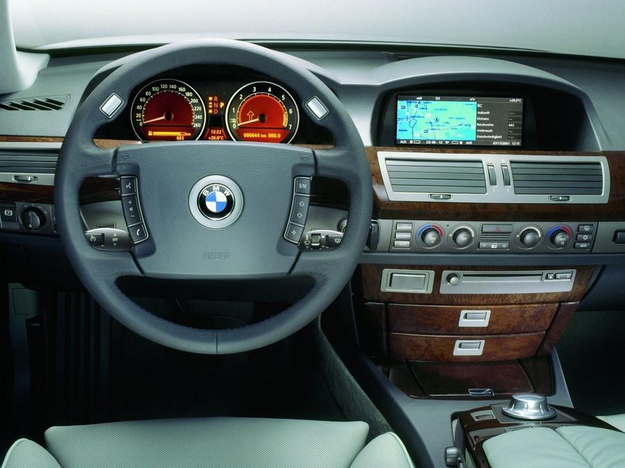 7er bmw interior