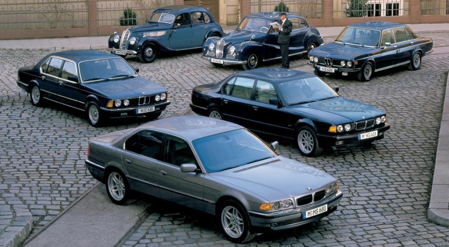 BMW 7er E38 E32 E23 E3