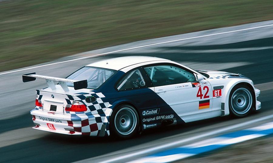 BMW M3 GTR ALMS