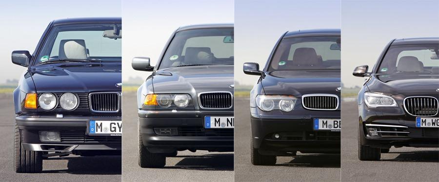 bmw 7er e32 e38 e65 f01
