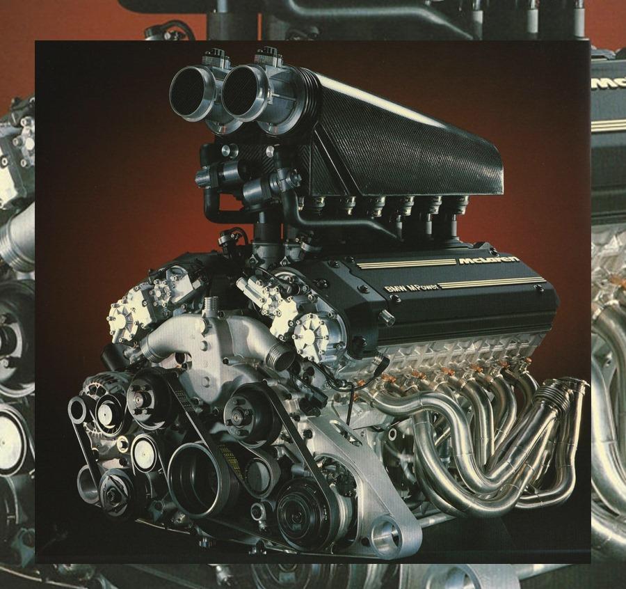 bmw engine v12 s70/2 1993–1998