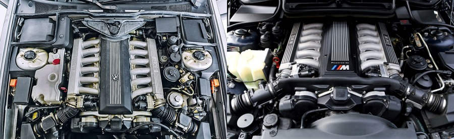 bmw motor v12 m70 s70