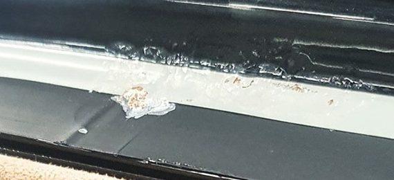 075 Очаги коррозии на Porsche Macan