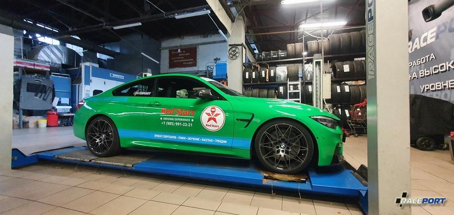 BMW M4 F82 Competition с занижением