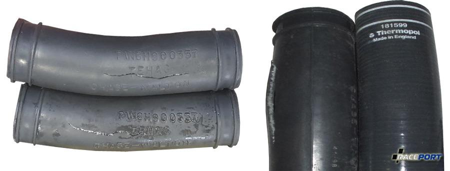 Взорвавшиеся патрубки Феррари