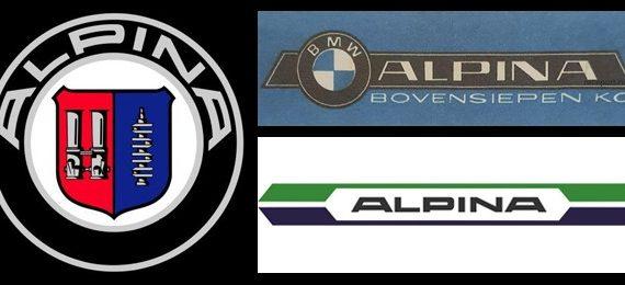 Логотипы компании Alpina