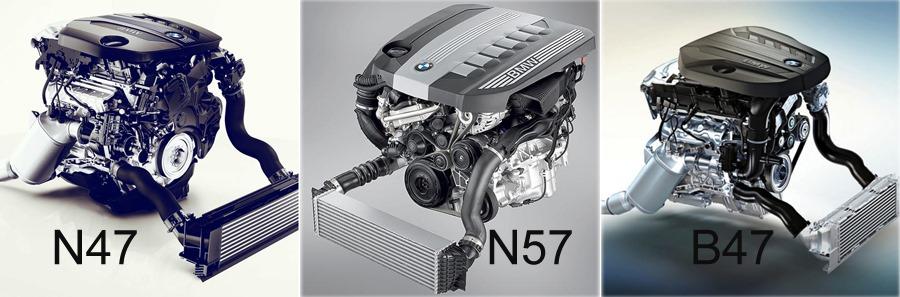N47 N57 B47 B57 B48 B58