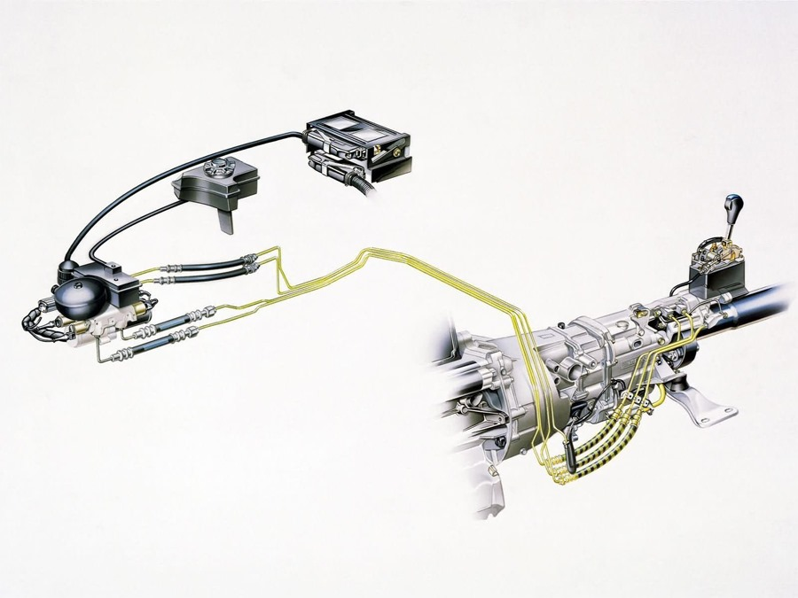 BMW SMG1 replace Manual