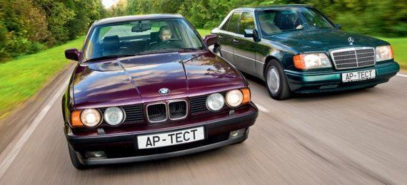 Видео обзор BMW 535i E34 и Mercedes Benz E280 W124