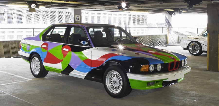 BMW E32 ART Cars