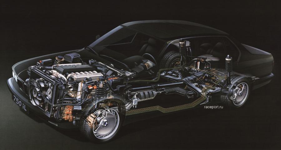 BMW 750iL V12 M70