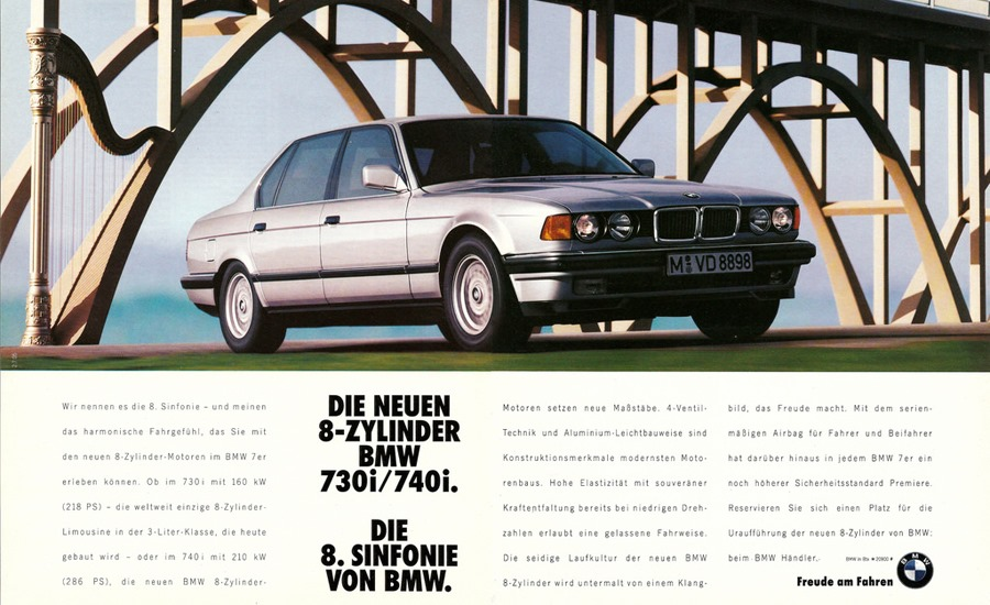 BMW Classic Advertising