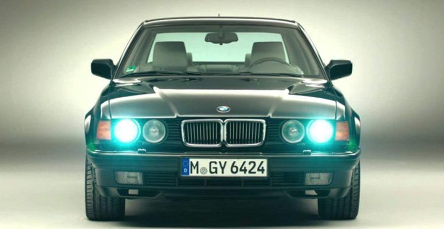 BMW E32 Xenon