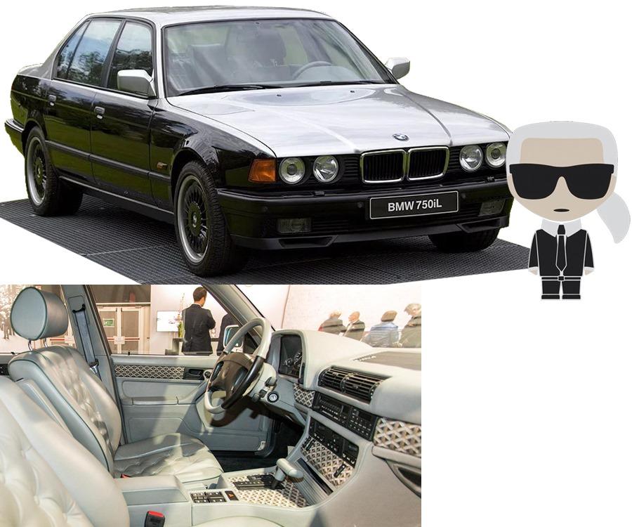 BMW E32 Karl Lagerfeld