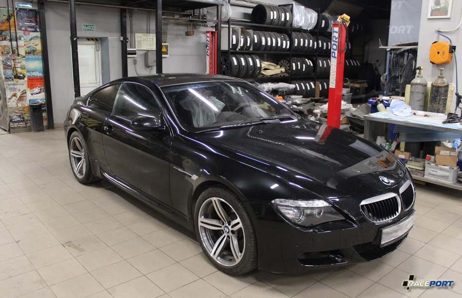 Replace roof BMW M6 Carbon