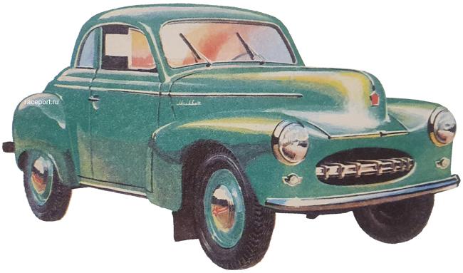 Москвич 403Э 424Э Купе 1951