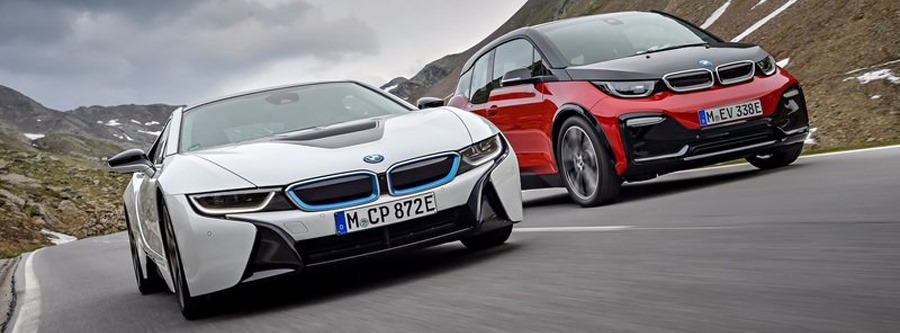 bmw i3 i8 raceport