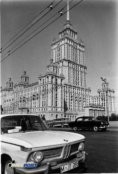 BMW 1500 in Moskau 1962