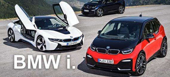 Обслуживание и ремонт электромобилей BMW i3 i8