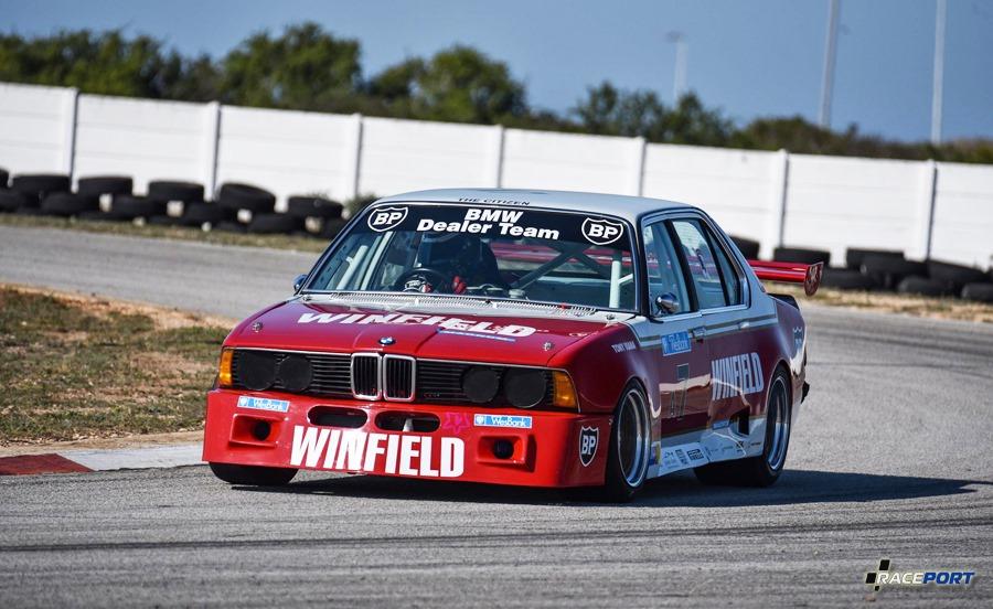 bmw 745i SA e23 winfield race car